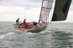 Rosso 28, en navigation sous spi