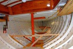 Blue Note, structure des planchers intérieurs
