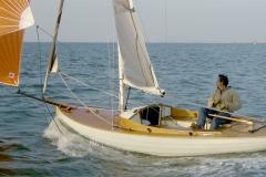 Indigo, en navigation sous spi