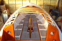 Jovial tiburon, structure du roof