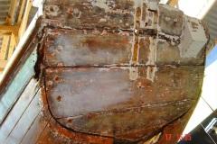 Luçoise, tableau avant restauration