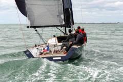 Rosso 28 EVO, navigation sur mer calme