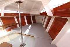 Rosso 28, aménagements intérieurs