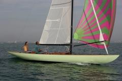 Vert d'O, en navigation sous spi